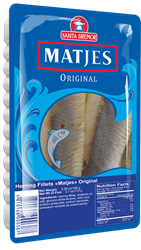 Picture of MATJES HERRING FILLET ORIGINAL, 150g/5.3oz