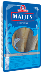 Picture of MATJES HERRING FILLET ORIGINAL, 500g/1.1lb