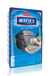 Picture of MATJES HERRING FILLET ORIGINAL PIECES, 250g/8.82oz