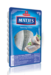 Picture of MATJES HERRING FILLET PROVENCE, 250g/8.82oz