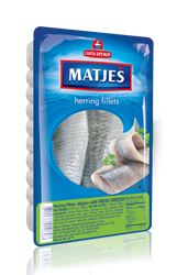 Picture of MATJES HERRING FILLET WITH FRESH GREENS, 250g /8.82oz