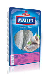 Picture of MATJES HERRING FILLET SEASONED, 250g /8.82oz