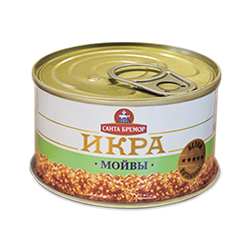 Picture of CAVIAR CAPELLIN (MOIVA) TIN, 110g/3.88oz