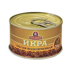 Picture of CAVIAR COD SMOKED TIN, 130g/4.59oz