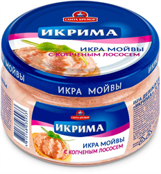 "Picture of CAVIAR ""IKRIMA"" CAPELIN WITH SMOKED SALMON, 165g / 5.82 oz"