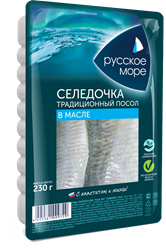 "Picture of HERRING FILLET ""RUSSIAN SEA"" TRADITIONAL, 230g/8.11 oz"