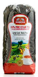 Picture of SET OF 12 BAGS MARHUMAR LARGE LEAF BLACK 100% PURE CEYLON TEA (1.1lb, Total 13.2lb)