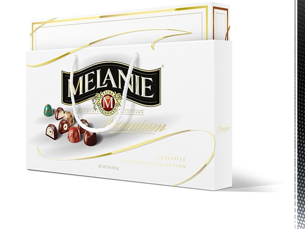 Picture of MELANIE ASSORTED CHOCOLATES, BLACK, WHITE, 1 lb, 2 lb