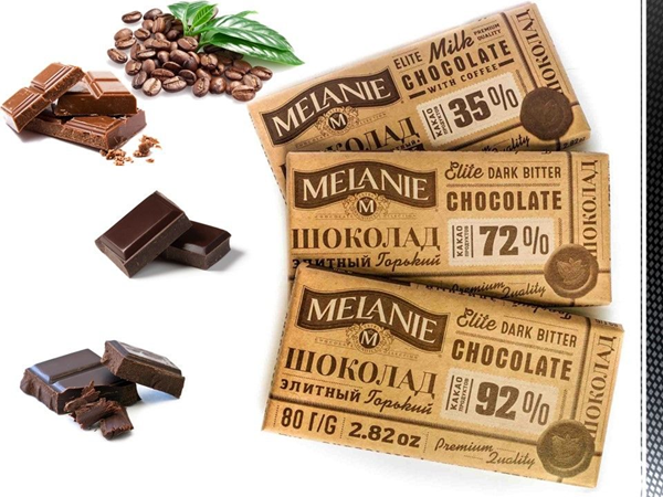 Picture of MELANIE CHOCOLATE 80g/2.82 oz