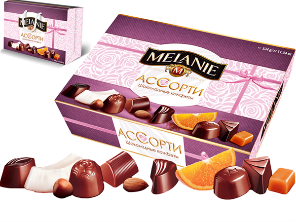 Picture of MELANIE CHERRY SPECIAL SELECTION OF PREMIUM CHOCOLATES 310g / 10.93 oz
