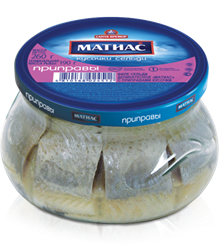 Picture of MATJES HERRING PIECES SEASONED, 260g/9.2oz